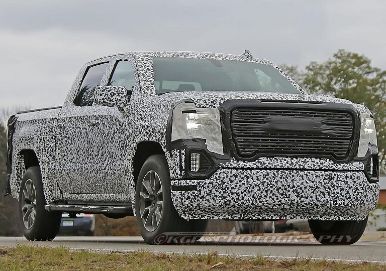 Redesigned 2019 Gmc Sierra Spotted During Test Drive