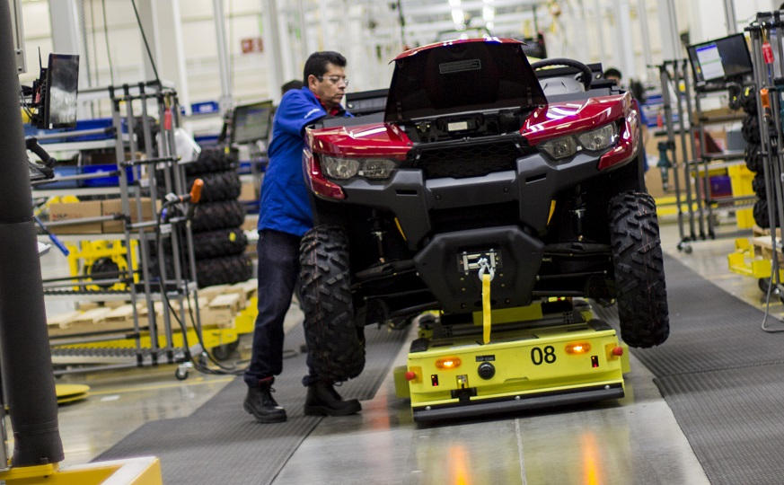 Bombardier Recreational Products >> BRP charges ahead with expansion plans in Mexico