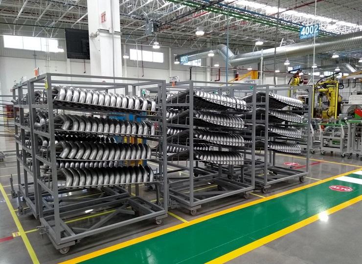 French auto supplier Faurecia plant Guanajuato